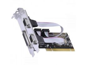 PLACA PCI C/2 SERIAIS + 01 PARALELA P2IE1PR-PCI VINIK - 1