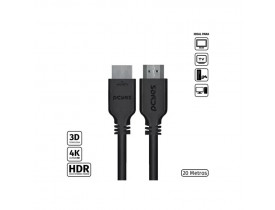 CABO HDMI 2.0 4K 3D 1080P 19+1 PINOS 20 MTS PHM20-20 PCYES - 1