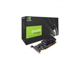 PLACA DE VIDEO PCI-EX 4GB DDR5 640 CUDA CORES 128BIT QUADRO P1000 VCQP1000-PORPB NVIDIA - 1