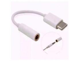 CONVERSOR DE AUDIO USB-C PARA P2 FONE DE OUVIDO BR CABOS - 1