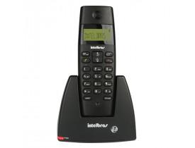 TELEFONE SEM FIO + IDENT. TS40ID 4070350 PRETO INTELBRAS - 1