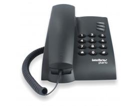 TELEFONE COM FIO S/CHAVE PLENO PRETO 4080051 INTELBRAS - 1