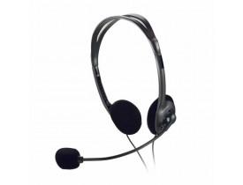 HEADSET C/MICROFONE BASICO PRETO PH002 MULTILASER - 1