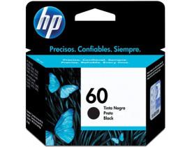 CARTUCHO 60 PRETO CC640WB HP - 1