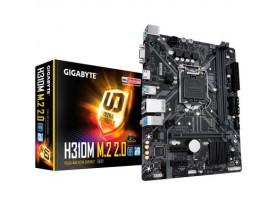 PLACA MAE LGA1151 INTEL H310M M2 2.0 DDR4 2666 VGA 8ª/9º GER GIGABYTE - 1