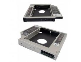 ADAPTADOR 9.5MM DVD PARA HD OU SSD SATA NOTEBOOK DRIVE CADDY - 1
