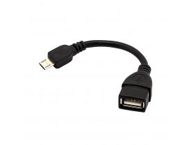 ADAPTADOR MICRO OTG USB FEMEA 2.0 X MICRO USB BR CABOS CE - 1