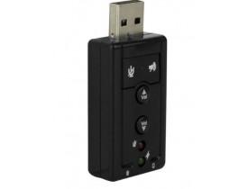 ADAPTADOR USB 2.0 X SOM VIRTUAL 7.1 - 1