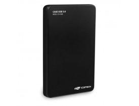 """CASE PARA HD 2.5"""" USB 3.0 PRETO CH-300BK C3 TECH - 1"""