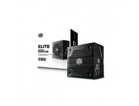 FONTE ATX 600W REAL ELITE V3 FULL RANGE PFC ATIVO MPW-6001-ACAAN1-WO COOLER MASTER - 1