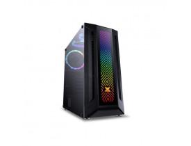 GABINETE EATX GAMER SAGITARIUS SEM FONTE VIDRO TEMPERADO FITA LED RGB VINIK - 1