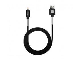 CABO USB LIGHTNING P/IPHONE COM 1MTS PRETO CM05 ELOGIN - 1