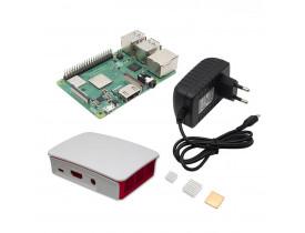 KIT RASPBERRY PI3 MODEL B+ COM SD 32GB, CASE,COOLER, DISSIPADOR E FONTE - 1