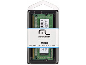 MEMORIA 4GB DDR3L 1600 NOTEBOOK MULTILASER - 1