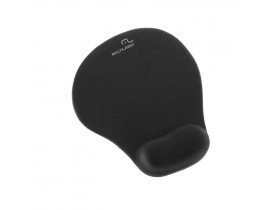 MOUSE PAD GEL PRETO PEQUENO AC021 MULTILASER - 1
