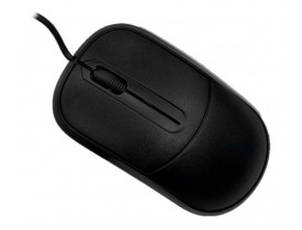 MOUSE USB PADRAO 1000 DPI MS-35BK PRETO C3 TECH - 1