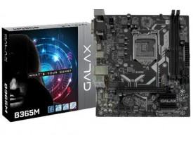 PLACA MAE LGA1151 INTEL B365M IB365MAGCHJ1CW DDR4 2666 COFFEE LAKE 8ª E 9ª GER GALAX - 1