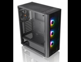 GABINETE GAMER ATX  TT V250 TG ARGB/BLACK/SPCC VIDRO TEMPERADO CA-1Q5-00M1WN-00 THERMALTAKE - 1
