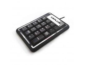 TECLADO NUMERICO COM FIO USB  PRETO KN-11BK C3TECH - 1