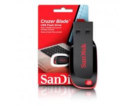 PENDRIVE 32GB USB CRUZER BLADE PRETO C/VERMELHO SDCZ50-032GB-35 SANDISK - 1